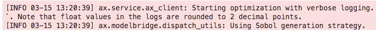 hyperparameter tuning keras ax log note Sobol search