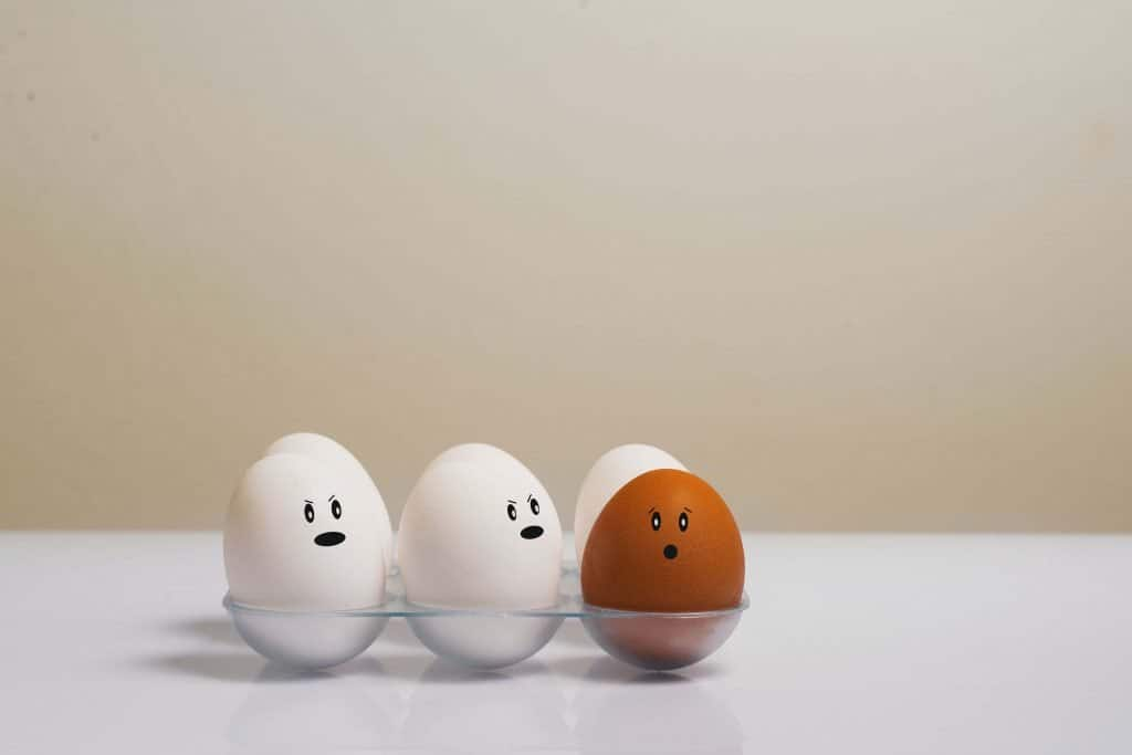 anomaly outlier detection eggs in a tray