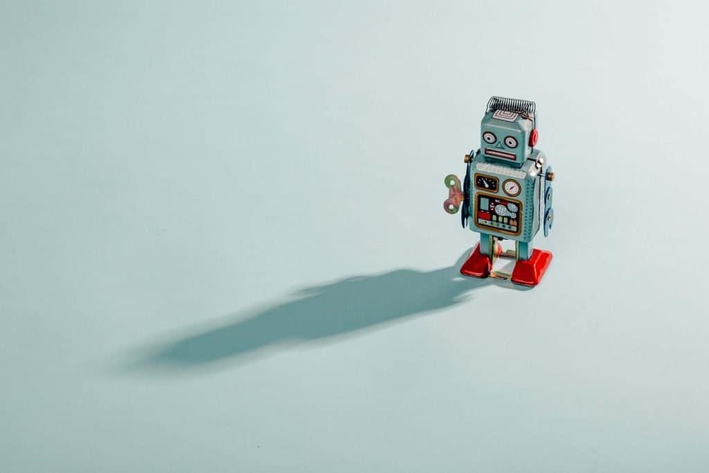 machine learning beginners algorithm types robot