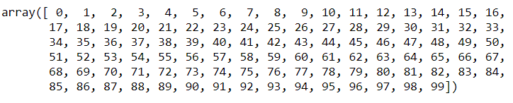 basics from range to array numpy python tutorial