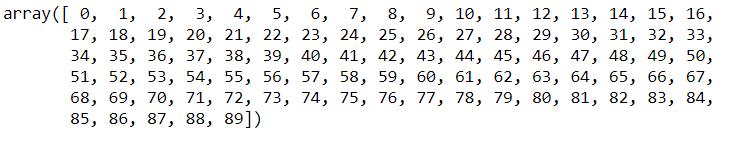 ravel 1d array example numpy python tutorial